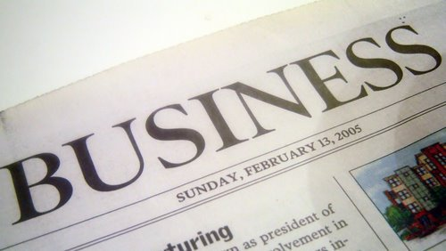 Accessing business news in Scotland